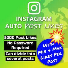 5000 x IG Auto Post Likes
