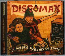 CD V/A DISCOMAX - EL PRIMER MEGAMIX DE RUSSIA [Max-Mix, Bolero-Mix] Italo-Disco