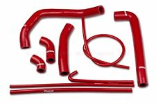 Ducati 1299 Panigale S R 2015-2017 Coolant Silicon Hoses in Red, Radiator Pipes