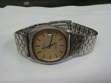 Mens vintage Omega Constellation Chronometer quartz working excellent