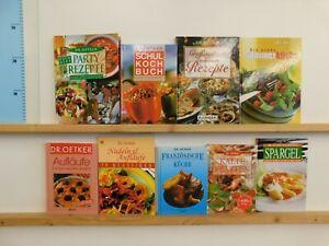 47 Bücher Dr. Oetker Kochbücher nationale und internationale Küche