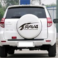 Toyota RAV4 reflective car stickers RAV4 spare back tire cover stickers UK
