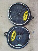 front wheel with NIPPLE 290mm BLACK MAVIC COSMIC SLS STRAIGHT PULL SPOKE