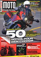 ** Moto Magazine n°276 Harley Davidson 1250 V-Rod Muscle / Victory 1700 Hammer S