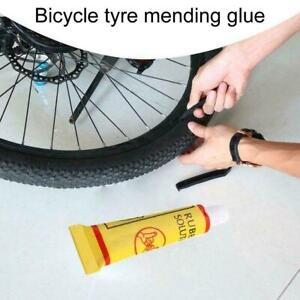 Bicycle Cycling Tire Tube Patching Glue Rubber Cement Adhesive Tool Repair E3N4