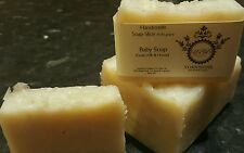 handmade soap natural oils baby soap made with goats milk and honey