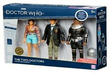 Doctor Dr Who The Two Doctors Collector Figure Set *BRAND NEW*