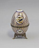 9987183 Othengrafen Porcelain-Egg Can Bird Uninstall Kor 15x9cm