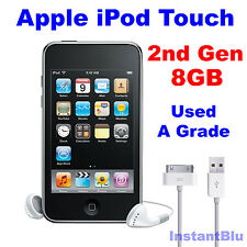 Genuine Apple iPod Touch 8GB 2nd Generation Black Used A Grade MP3 Player Gift