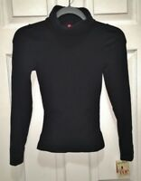 SPANX On Top and In Control Black Long Sleeve Turtleneck Top NEW Womens S M L XL