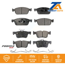 Front Rear Semi-Metallic Brake Pads Kit For Ford Escape Lincoln MKC