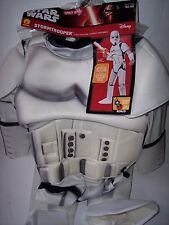 STAR WARS THE FORCE AWAKENS STORMTROOPER COSTUME KIDS SIZE SMALL 4-6 NEW!!!