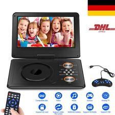 1600mAh Tragbarer DVD Player 11.5 zoll Portable USB/SD Game/Radio Fernbedienung