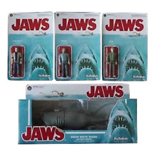 Funko ReAction Figures  JAWS Complete Sat Hooper Quint Chief Brody Great White