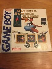 Gameboy Olympic Summer Games Boxed With Instructions Gwo Free Uk Postage