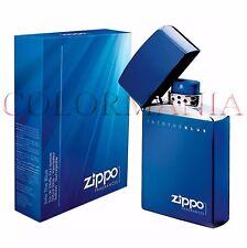 ZIPPO ORIGINAL INTOTHE BLUE EAU DE TOILETTE PROFUMO UOMO NATURAL SPRAY 50 ML