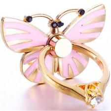 Metal Mobile Phone Butterfly Holder 360 Finger Ring Universal Stand Mount Grip