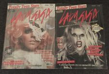2 RARE GREEK MAGAZINES DEDICATED TO LADY GAGA 50 PAGES + POSTERS SEALED