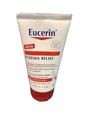 Eucerin Eczema Relief Flare-Up Treatment Creme 2 oz Fragrance Free Exp. 2019