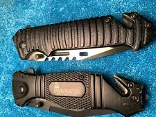 Lot of 2 knives. One a Tac-Force Tf-916. Other A Casselman