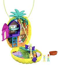 Polly Pocket Gkj64 Tropicool Pineapple Purse