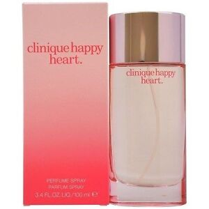 CLINIQUE HAPPY HEART FOR Women 3.4 oz Perfume Spray NEW IN BOX SEALED