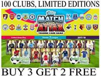 Match Attax 2017/18 17/18 - 100 CLUB/ LIMITED EDITION CARDS - FREE UK POSTAGE