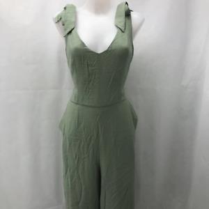CeCe Green Sleeveless Jumpsuit 10