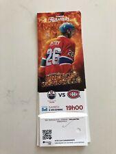 unused hockey tickets Montreal Canadiens 2017 season Jeff Petry