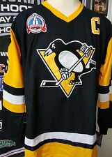 New Pittsburgh Penguins Lemieux Jersey Stanley Cup Vintage