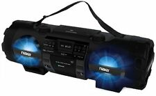 Naxa Mp3/cd Bass Reflex Boombox & Pa System With Bluetooth - 1 X Disc - 60 W
