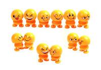 Cute Emoji Shaking Head Dolls,Face Springs Dancing Toys for Car Dashboard,Gifts