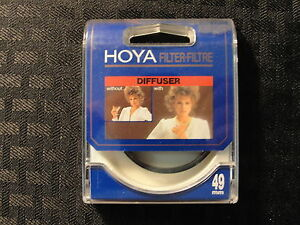 Hoya Photography 49mm Diffuser Camera Filter New In Package Made In Japan