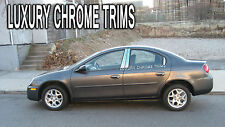 Dodge Neon Stainless Steel Chrome Pillar Posts by Luxury Trims 2000-2005 (6pcs)