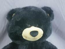 BIG BLACK BUILD A BEAR TEDDY LOVEY FRIEND HUGGABLE PLUSH STUFFED ANIMAL TOY