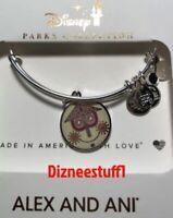 Disney Alex & And Ani It's A Small World Silver Bracelet