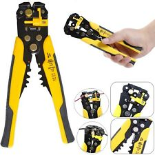 Self Adjustable Automatic Wire Cable Cutter Crimper Crimping Stripper Tool Plier