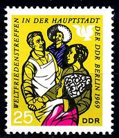 1480 postfrisch DDR Briefmarke Stamp East Germany GDR Year Jahrgang 1969
