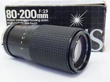 Sirius 80-200mm F3.9 Olympus OM Film Mount Camera Lens. Stock No u8460