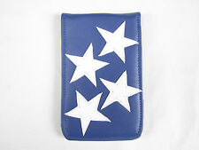 Sunfish Leather Golf Scorecard / Yardage Book Holder Cover USA American Flag