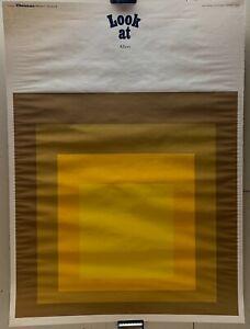 Original '69 JOSEF ALBERS Homage to the Square Galerie Thomas SILKSCREEN Poster
