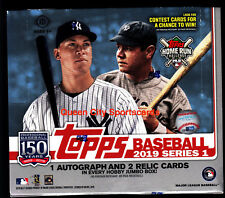 2019 Topps Series 1 Baseball Factory Sealed Jumbo Box