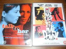 Tie Me Up! Tie Me Down! and Talk to Her (DVDs / Pedro Almodovar 1989)