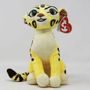 "Disney Ty Beanie Babies FULI The Lion Guard 6"" Beanbag Plush Stuffed Animal Toy"