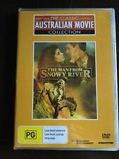 THE MAN FROM SNOWY RIVER - DVD -1982 Tom Burlinson Australian Movie KIRK DOUGLAS