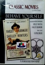 Behave Yourself (Farley Granger) DVD 2003 New And Sealed