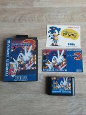 Sonic 3 Sega Mega Drive