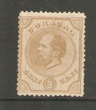 Curacao 1873-9 3 Cents Mounted Mint