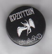 LED ZEPPELIN Symbols BUTTON BADGE - ENGLISH ROCK BAND - ROBERT PLANT 25mm PIN