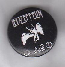 LED ZEPPELIN Symbols BUTTON BADGE - ENGLISH ROCK BAND - ROBERT PLANT 25mm PIN